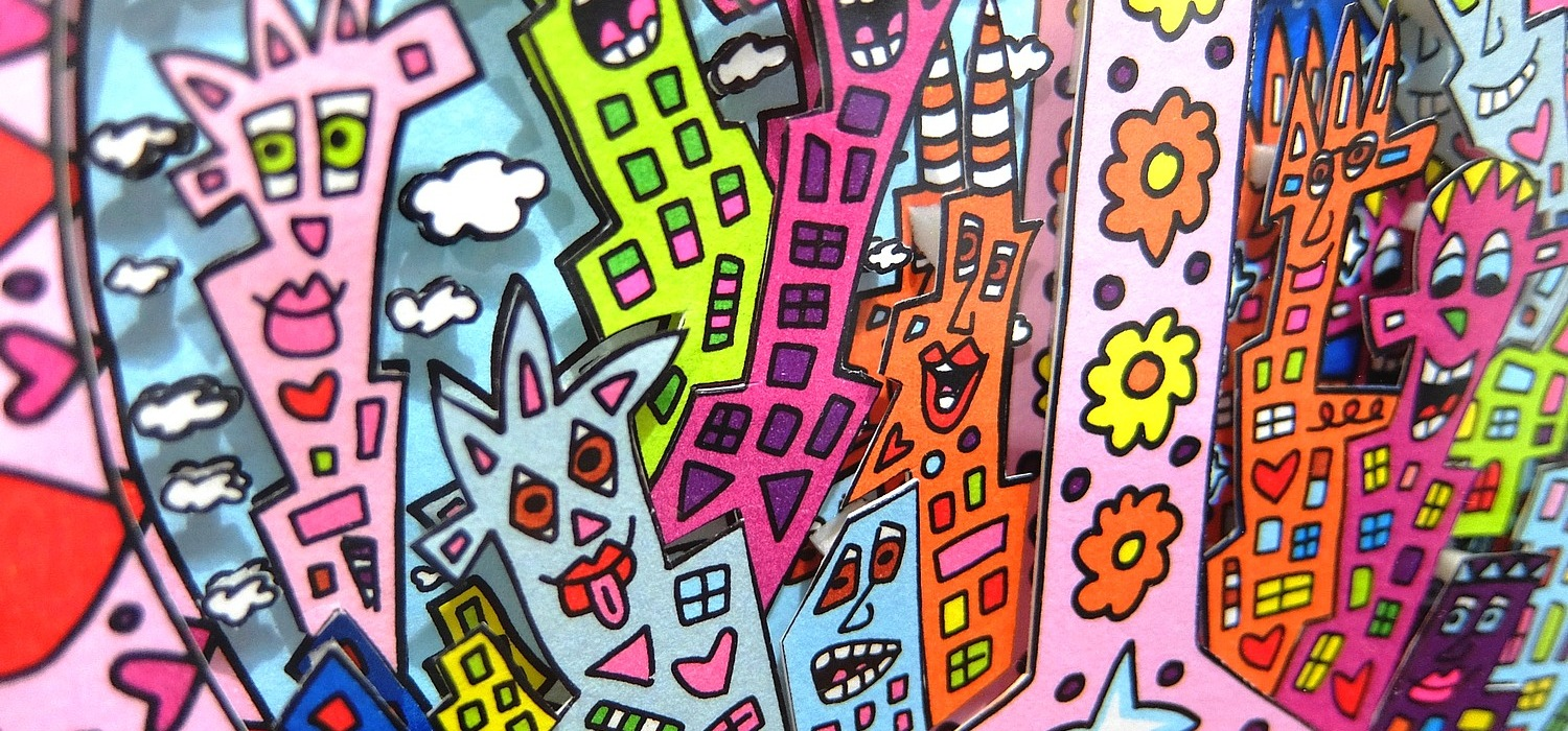 Galerie Eclat d'Art James Rizzi oeuvre achat