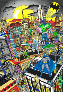 Batmann rules the night - The superhero series