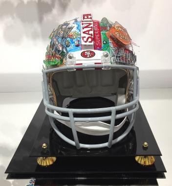 Helmet Super Bowl S.F.