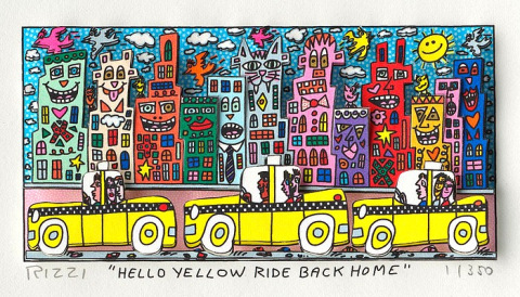 Hello yellow ride back home