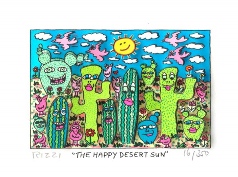 The Happy Desert Sun