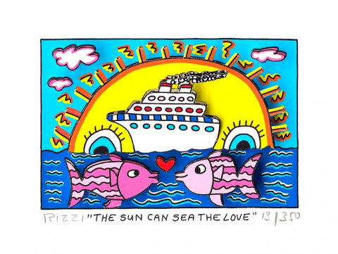 The sun can sea the love