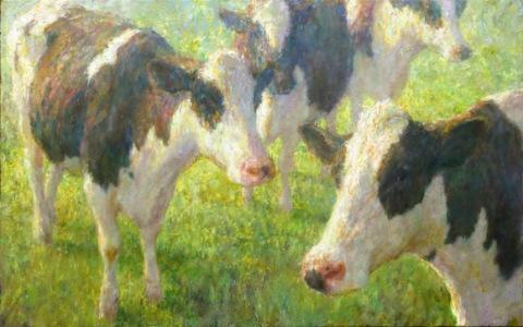 Trois vaches